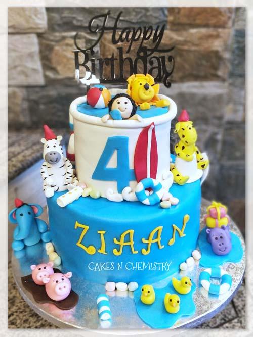 Birthday Cakes For Boys Cakesnchemistry